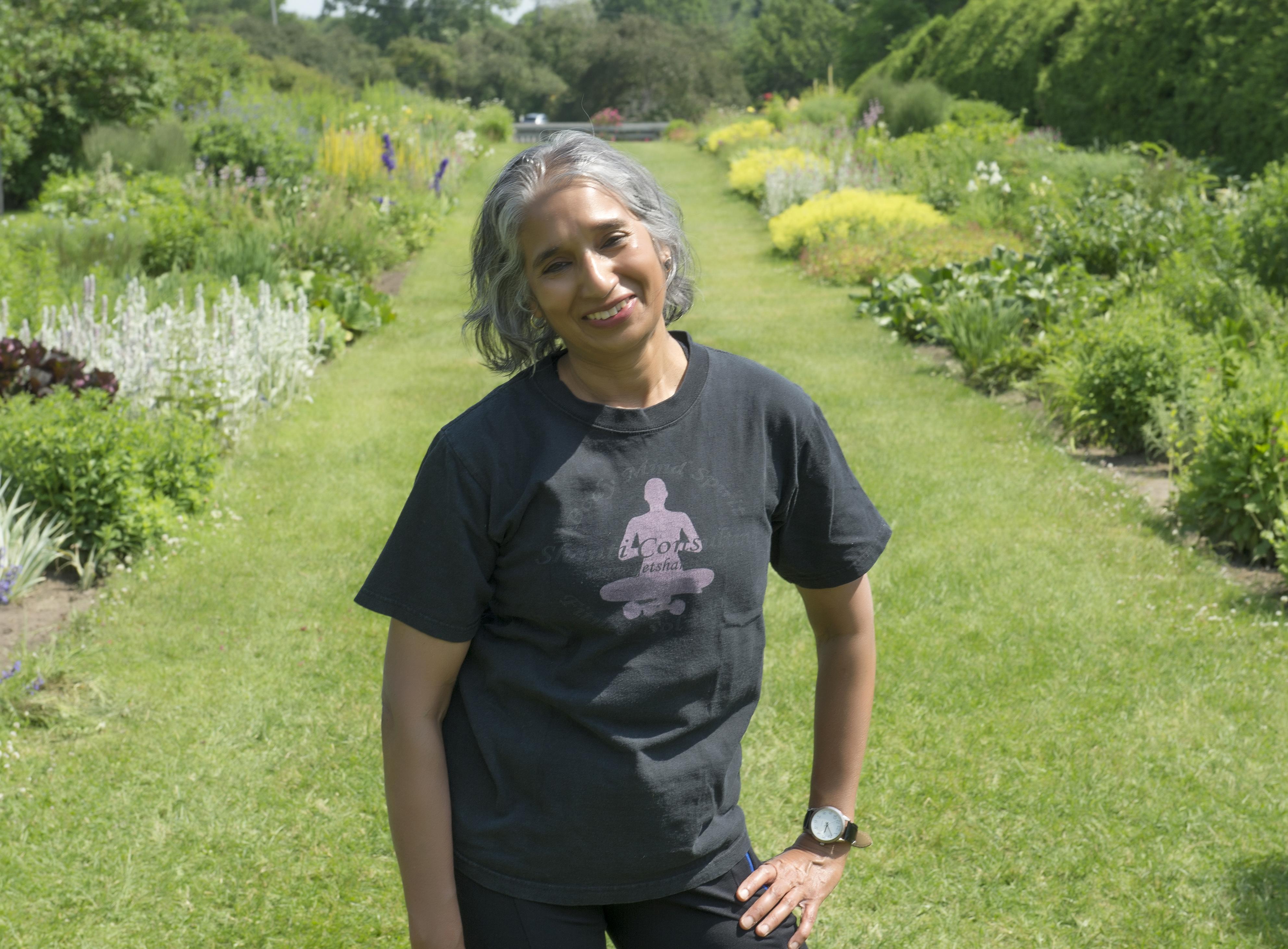 me at Experimental Arboretum